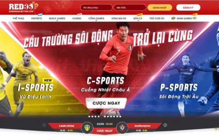 Giao diện của Red88